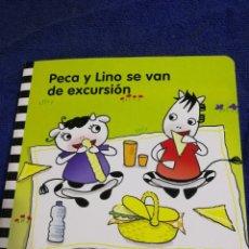 Libros de segunda mano: PECA Y LINO SE VAN DE ESCURSION. EDUCACION INFANTIL NIÑOS 2 AÑOS. Lote 194576215