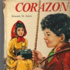 Libros de segunda mano: CORAZÓN. EDMONDO DE AMICIS. EDICIONES PAULINAS, 1973. (ST/MG/BL3). Lote 194616826