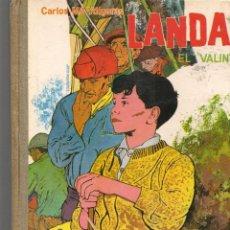 Libros de segunda mano: LANDA, ¨EL VALÍN¨ . CARLOS MARÍA YDÍGORAS. COLECCIÓN LA BALLENA ALEGRE. Nº 16. DONCE,1962(ST/MG/BL3). Lote 194617295
