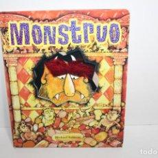 Libros de segunda mano: CUENTO MONSTRUO TROQUELADO - MICHAEL SALMON SAN PABLO 2007. Lote 194624773