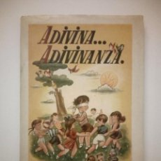 Libros de segunda mano: ADIVINA… ADIVINANZA. L. SPIELBERG Y HORNO. Lote 194641531