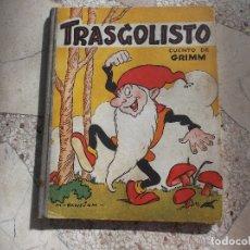 Libros de segunda mano: CUENTOS DE GRIMM,TRASGOLISTO, M-BENEJAM, 1944, MUY ILUSTRADO, 39 PAGINAS,TAPA DURA . Lote 194679215