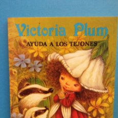 Libros de segunda mano: VICTORIA PLUM AYUDA A LOS TEJONES. ANGELA RIPPON. PUBLICACIONES GAMA, S.A.. Lote 194693911