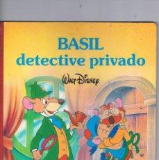 Libros de segunda mano: BASIL DETECTIVE PRIVADO WALT DISNEY PLAZA JANES 1986. Lote 194705880