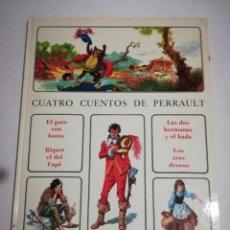 Libros de segunda mano: CUATRO CUENTOS DE PERRAULT EDITORIAL TIMUN MAS1975 COLECCION ANDERSEN. Lote 194709240
