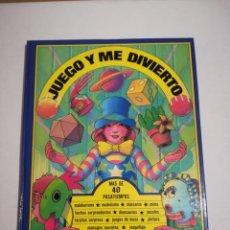 Libros de segunda mano: JUEGO Y ME DIVIERTO MAS DE 40 PASATIEMPOS EVEREST 1983. Lote 194709463