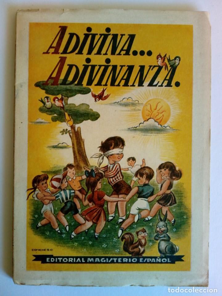 ADIVINA… ADIVINANZA. L. SPIELBERG Y HORNO (Libros de Segunda Mano - Literatura Infantil y Juvenil - Cuentos)