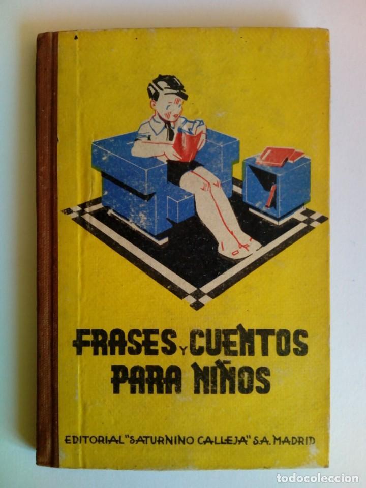 FRASES Y CUENTOS PARA NIÑOS. J. MATEO JIMÉNEZ AROCA (Libros de Segunda Mano - Literatura Infantil y Juvenil - Cuentos)