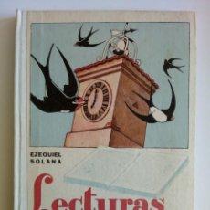 Libros de segunda mano: LECTURAS INFANTILES. EZQUIEL SOLANA. Lote 194721525