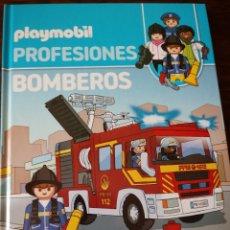 Libros de segunda mano: PLAYMOBIL. PROFESIONES. BOMBEROS. Lote 194760933
