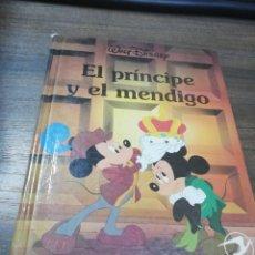 Libros de segunda mano: EL PRINCIPE Y EL MENDIGO. WALT DISNEY. EDICIONES GAVIOTA. . Lote 194771345
