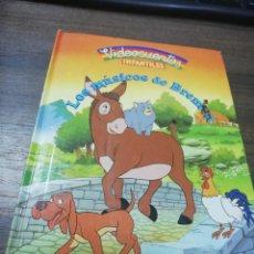 Libros de segunda mano: LOS MUSICOS DE BREMEN. VIDEOCUENTOS INFANTILES. PLANETA- AGOSTINI. 1989.. Lote 194774072
