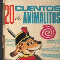 Libros de segunda mano: 20 CUENTOS DE ANIMALITOS. ILUSTRACIONES: ANTONIO AYNÉ. TORAY, 1969. (ST/B3). Lote 194779881