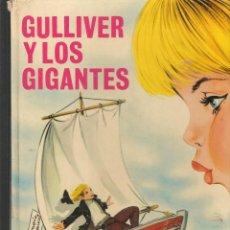 Libros de segunda mano: GULLIVER Y LOS GIGANTES. JONATHAN SWIFF. ILUSTRACIONES: MARÍA PASCUAL. TORAY, 1975(ST/B3). Lote 194780233