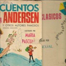 Libros de segunda mano: CUENTOS DE ARDERSEN Y OTROS CUENTOS. ILUSTRACIONES: MARÍA PASCUAL. TORAY, 1975.(ST/B3). Lote 194780930
