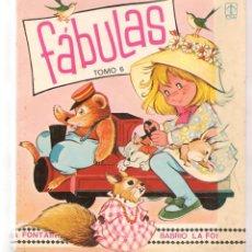 Libros de segunda mano: FÁBULAS. TOMO 6. ILUSTRACIONES: MARÍA PASCUAL. TORAY, 1983.(ST/B3). Lote 194858837