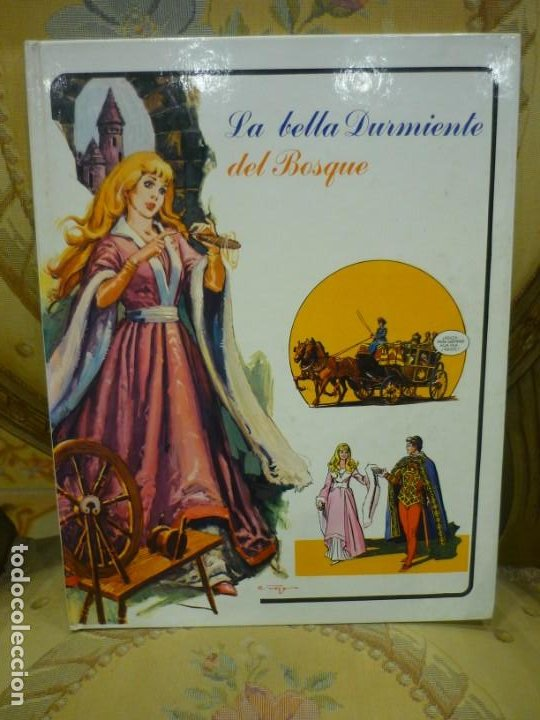 LA BELLA DURMIENTE DEL BOSQUE. COLECCIÓN FANTASÍA DE SIEMPRE, EDITORIAL RM 1.979. (Libros de Segunda Mano - Literatura Infantil y Juvenil - Cuentos)