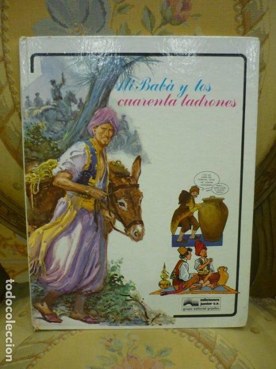 ALÍ BABÁ Y LOS CUARENTA LADRONES. COLECCIÓN FANTASÍA DE SIEMPRE, EDITORIAL JUNIOR-GRIJALBO 1.982. (Libros de Segunda Mano - Literatura Infantil y Juvenil - Cuentos)
