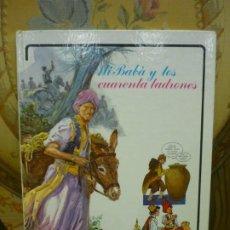 Libros de segunda mano: ALÍ BABÁ Y LOS CUARENTA LADRONES. COLECCIÓN FANTASÍA DE SIEMPRE, EDITORIAL JUNIOR-GRIJALBO 1.982.. Lote 194895572