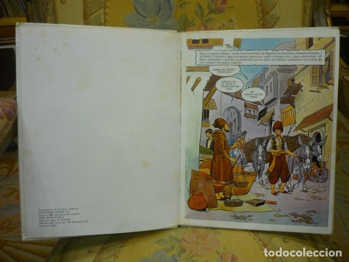 Libros de segunda mano: ALÍ BABÁ Y LOS CUARENTA LADRONES. COLECCIÓN FANTASÍA DE SIEMPRE, EDITORIAL JUNIOR-GRIJALBO 1.982. - Foto 5 - 194895572