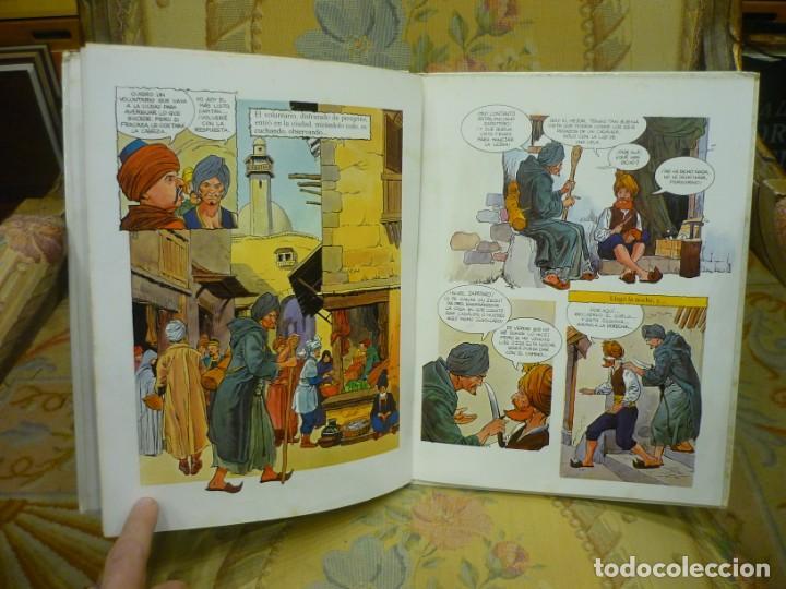 Libros de segunda mano: ALÍ BABÁ Y LOS CUARENTA LADRONES. COLECCIÓN FANTASÍA DE SIEMPRE, EDITORIAL JUNIOR-GRIJALBO 1.982. - Foto 6 - 194895572