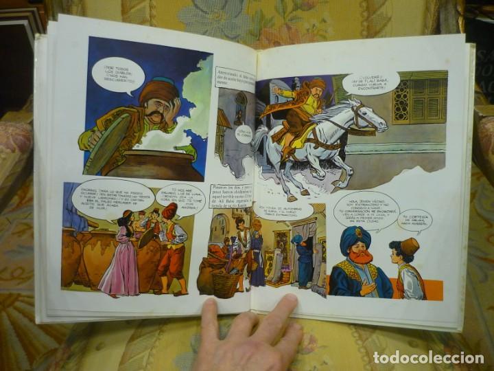 Libros de segunda mano: ALÍ BABÁ Y LOS CUARENTA LADRONES. COLECCIÓN FANTASÍA DE SIEMPRE, EDITORIAL JUNIOR-GRIJALBO 1.982. - Foto 7 - 194895572