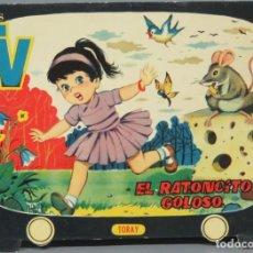 Libros de segunda mano: 1961.- EL RATONCITO GOLOSO-CUENTOS TV. INFANTILES TROQUELADOS. TORAY. Lote 194903545