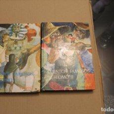 Libros de segunda mano: CUENTOS FAMOSOS TOMO I Y II, EDITORIAL EVEREST, AÑO 1977. Lote 194932903