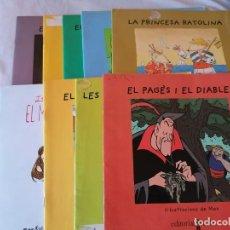 Libros de segunda mano: ED. CRUÏLLA * 8 NUMEROS Y OTRO EXTRA DE PURINA ** CUENTOS EN CATALAN ** MUY CHULOS. Lote 195039647