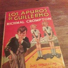 Libros de segunda mano: LOS APUROS DE GUILLERMO, LIBRO DE 1979, EDITORIAL MOLINO. Lote 195053146