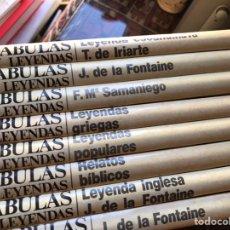 Libros de segunda mano: FÁBULAS Y LEYENDAS. EDICIONES RAYUELA. OCHO LIBROS. Lote 195060380