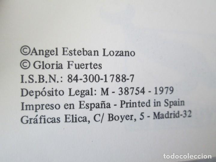 Libros de segunda mano: GLORIA FUERTES. TRES TIGRES CON TRIGO. DIBUJOS ANGEL ESTEBAN. EDITORIAL YUBARTA 1979 - Foto 8 - 195088406