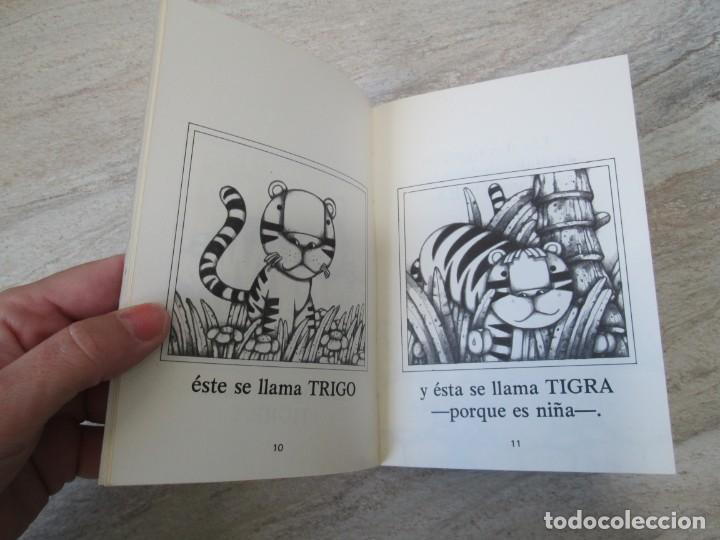 Libros de segunda mano: GLORIA FUERTES. TRES TIGRES CON TRIGO. DIBUJOS ANGEL ESTEBAN. EDITORIAL YUBARTA 1979 - Foto 10 - 195088406