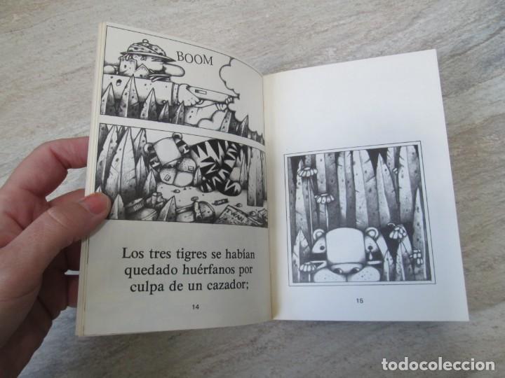 Libros de segunda mano: GLORIA FUERTES. TRES TIGRES CON TRIGO. DIBUJOS ANGEL ESTEBAN. EDITORIAL YUBARTA 1979 - Foto 11 - 195088406