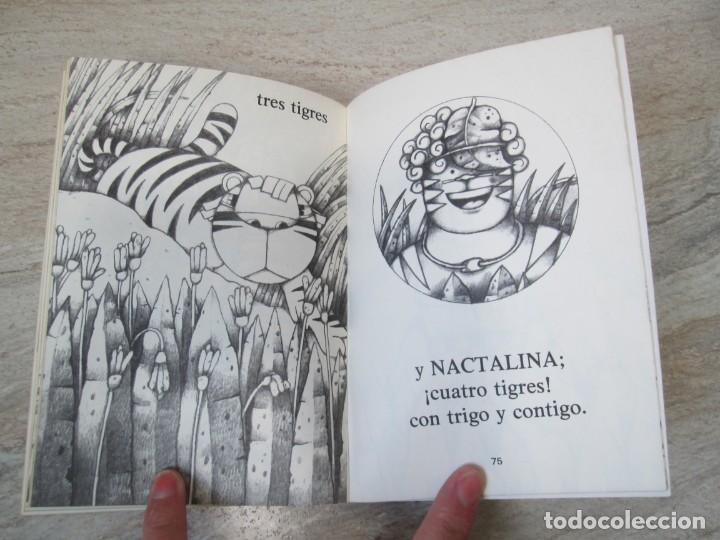 Libros de segunda mano: GLORIA FUERTES. TRES TIGRES CON TRIGO. DIBUJOS ANGEL ESTEBAN. EDITORIAL YUBARTA 1979 - Foto 14 - 195088406