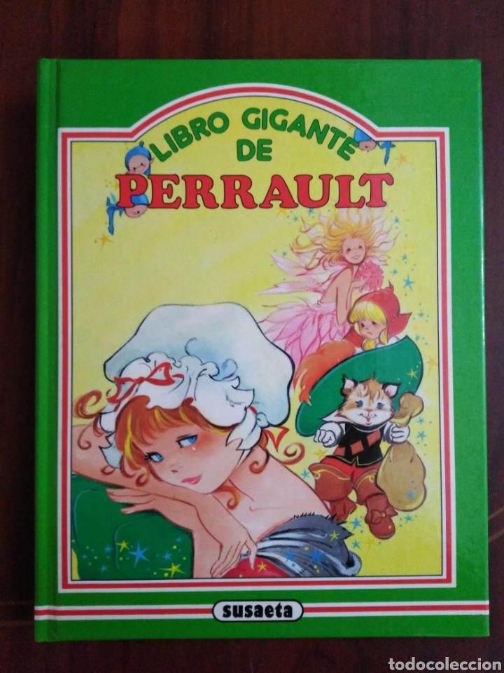 LIBRO GIGANTE DE PERRAULT ( SUSAETA ) (Libros de Segunda Mano - Literatura Infantil y Juvenil - Cuentos)