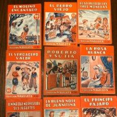 Libros de segunda mano: LOTE DE 9 CUENTOS COLECCIÓN MARUJITA. Lote 195152490