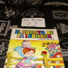 Libros de segunda mano: EL CUENTO DE LA LECHERA POR JAN DIBUJANTE SUPER LÓPEZ EDITORIAL BRUGUERA VER FOTOS ESTADO ALGUNA ARR. Lote 195152570