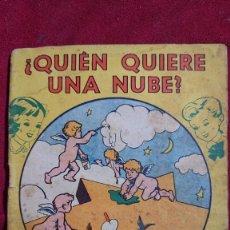 Libros de segunda mano: LIBRITO DE CUENTOS INFANTILES QUIEN QUIERE UNA NUBE EL RAPTO DE EMELINA COLECCION PITUSA. Lote 195235811