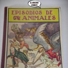 Libros de segunda mano: EPISODIOS DE ANIMALES, ED. RAMÓN SOPENA AÑO 1941, B6. Lote 195237027