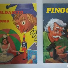 Libros de segunda mano: EL SOLDADITO DE PLOMO / PINOCHO, COLECCIÓN FANTASÍA, SUSAETA EDICIONES S.A. Lote 195266922