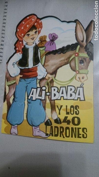 ALI-BABA Y LOS 40 LADRONES. TROQUELADO, EDITORIAL ANTALBE 1983 (Libros de Segunda Mano - Literatura Infantil y Juvenil - Cuentos)