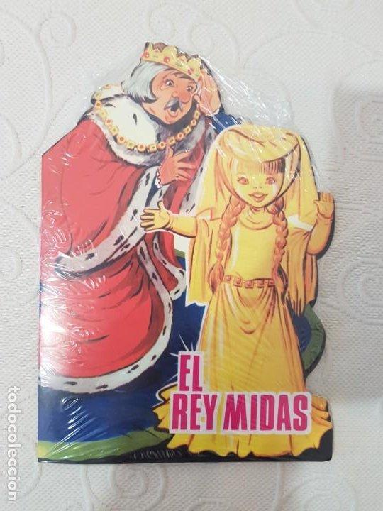 CUENTO TROQUELADO MARIA PASCUAL REEDICION DE PLANETA DE AGOSTINI,EL REY MIDAS, NUEVO (Libros de Segunda Mano - Literatura Infantil y Juvenil - Cuentos)