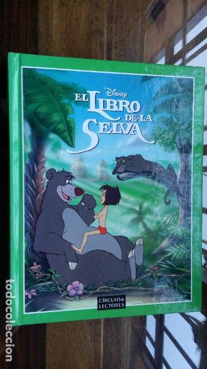 EL LIBRO DE LA SELVA, DISNEY, CIRCULO DE LECTORES (Libros de Segunda Mano - Literatura Infantil y Juvenil - Cuentos)