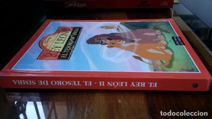 Libros de segunda mano: Disney EL REY LEON II, EL TESORO DE SIMBA - Foto 2 - 195340548
