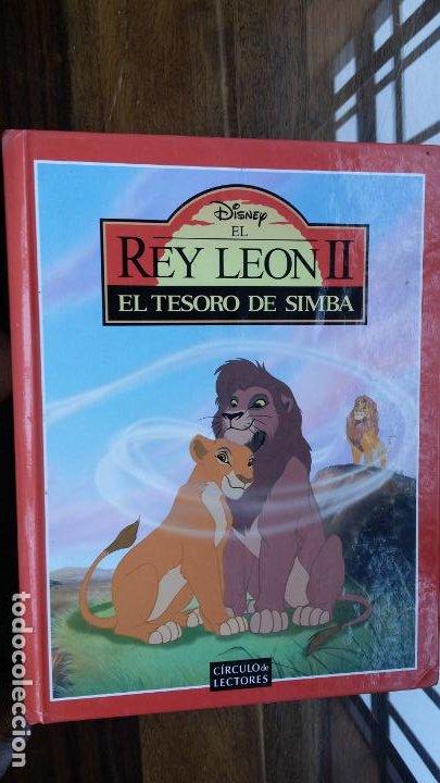 DISNEY EL REY LEON II, EL TESORO DE SIMBA (Libros de Segunda Mano - Literatura Infantil y Juvenil - Cuentos)