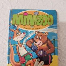 Libros de segunda mano: MINIZOO TOMO 1, ANTONIO AYNE, EDITORIAL TORAY, 1975, CUENTOS INFANTILES ILUSTRADOS DE ANIMALES. Lote 195342131
