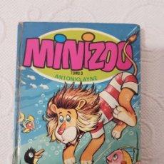 Libros de segunda mano: MINIZOO TOMO 3, ANTONIO AYNE, EDITORIAL TORAY, 1975, CUENTOS INFANTILES ILUSTRADOS DE ANIMALES. Lote 195342403