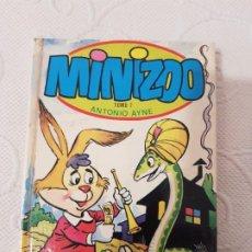 Libros de segunda mano: MINIZOO TOMO 7, ANTONIO AYNE, EDITORIAL TORAY, 1976, CUENTOS INFANTILES ILUSTRADOS DE ANIMALES. Lote 195342467