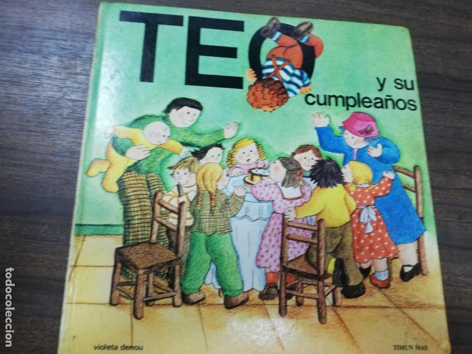 TEO Y SU CUMPLEAÑOS. (Libros de Segunda Mano - Literatura Infantil y Juvenil - Cuentos)